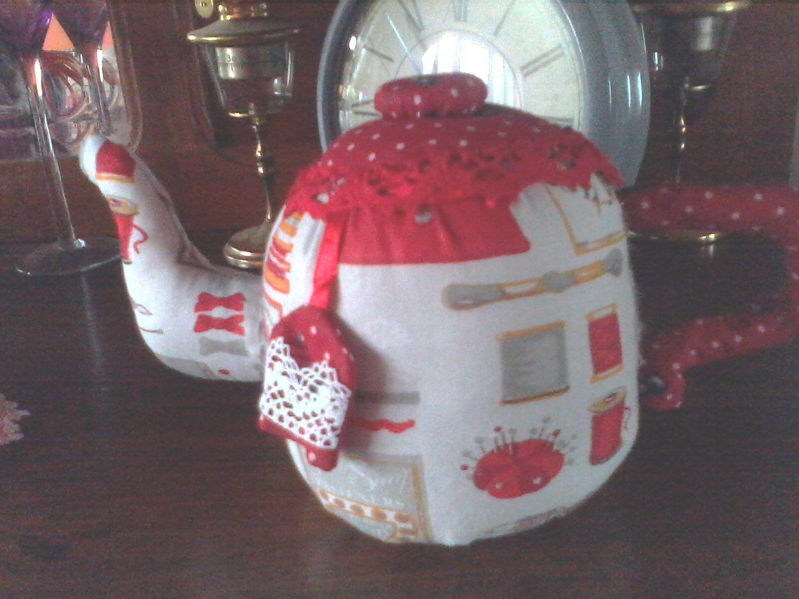 je vous invite pour un petit thé !!! mon premier &quot&#x3B;TILDA&quot&#x3B; !