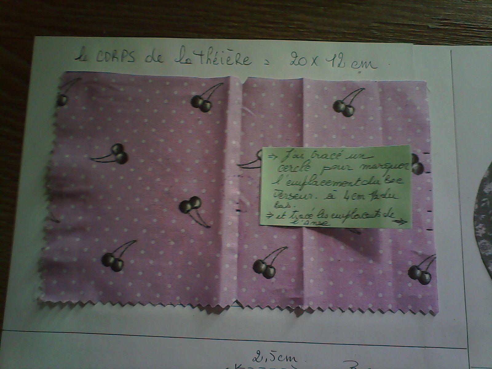 COUPE et FOURNITURES !!! pour le rectangle il vaut mieux faire les dimensions suivantes : 21 voir 22 cm x 12 cm