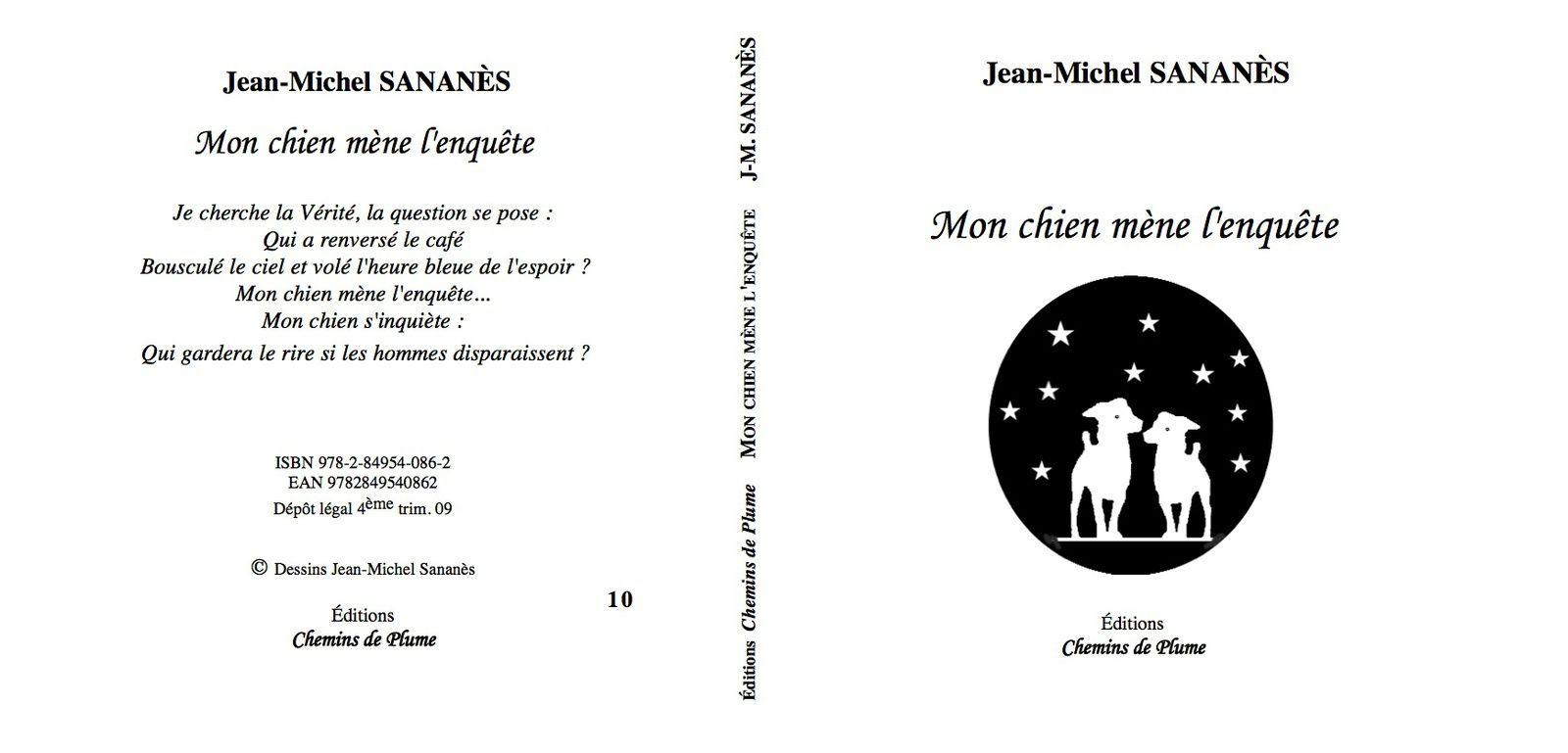 Mon chien mène l'enquête - Jean-Michel Sananès