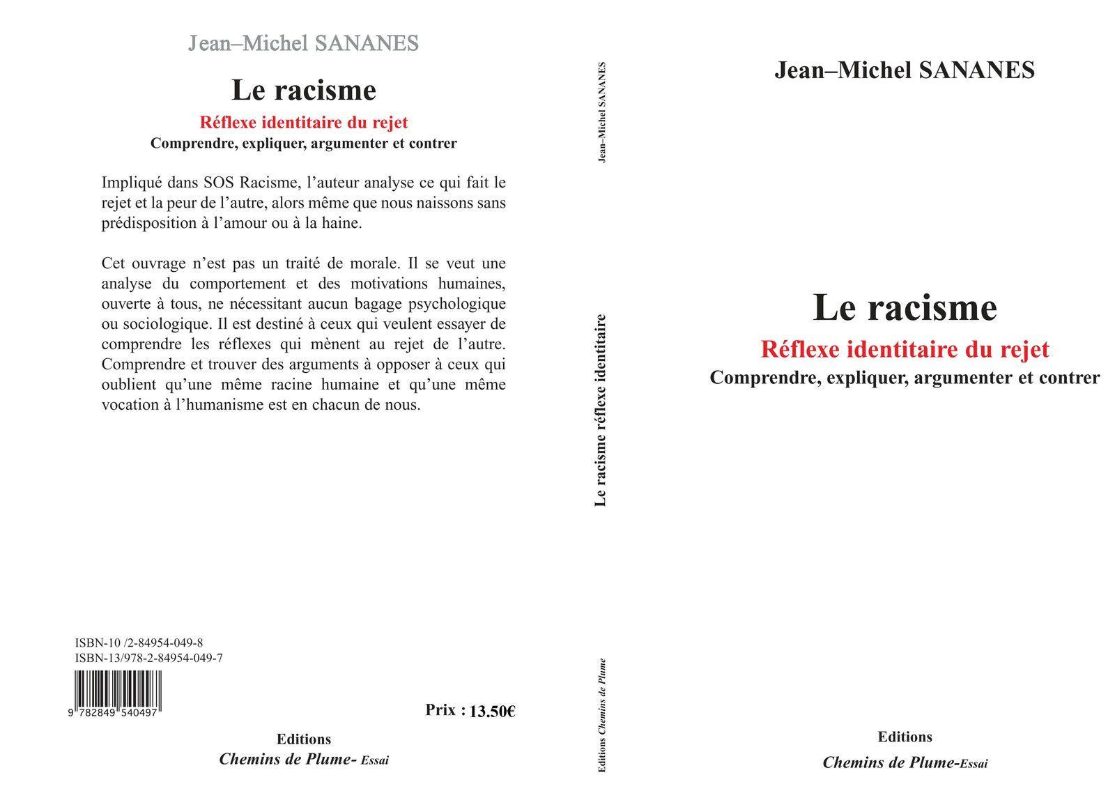 Le racisme - Jean-Michel Sananès