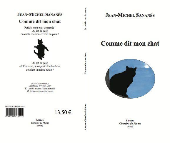 Comme dit mon chat - Jean-Michel Sananès