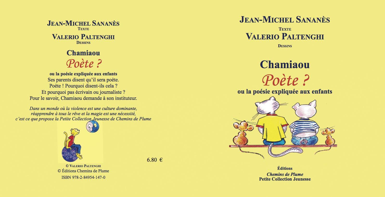 Chamiaou, Poète ? - JM. Sananès - Jeunesse