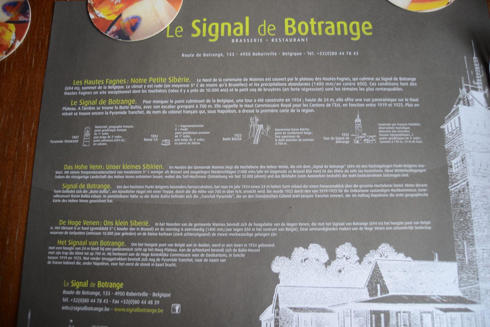Le Signal de Botrange 21/04/2014