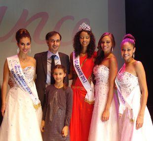 Avec Justine CARLIER, 1ière Dauphine Miss Orléanais 2013