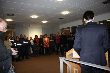 Les agents de la Communauté d'agglomération de Montargis