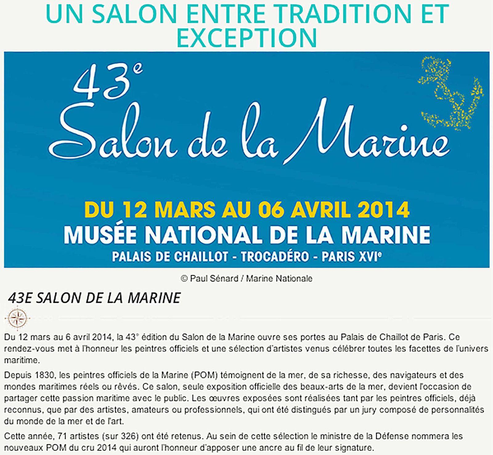 43e Salon de la Marine