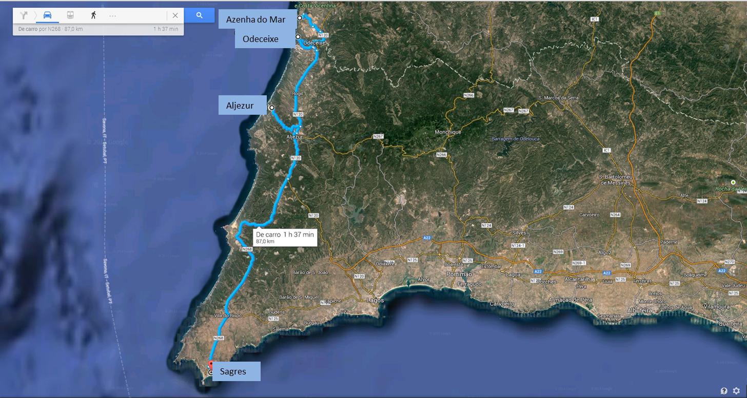 Alentejo et Algarve (1ère partie)