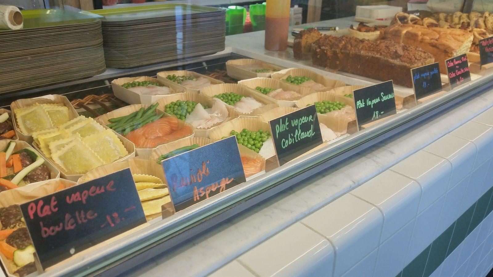 Healthy food, soleil et révisions