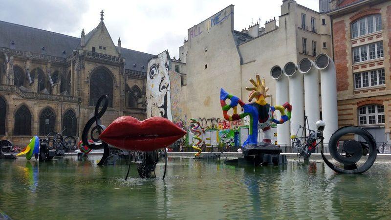 Quelques heures à Beaubourg