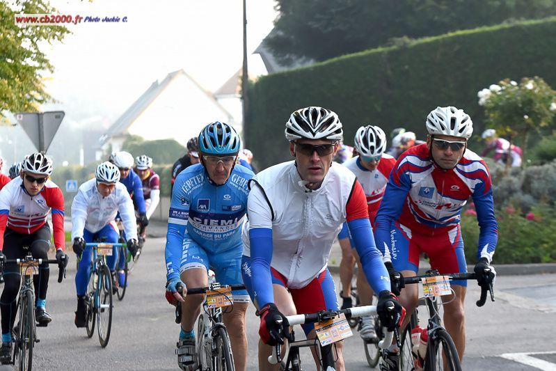 Belle représentation à la Journée du Champion. Quand Michel est là, Thierry n'est pas loin, entourés de Jean Marc, Eymeric et Mickael