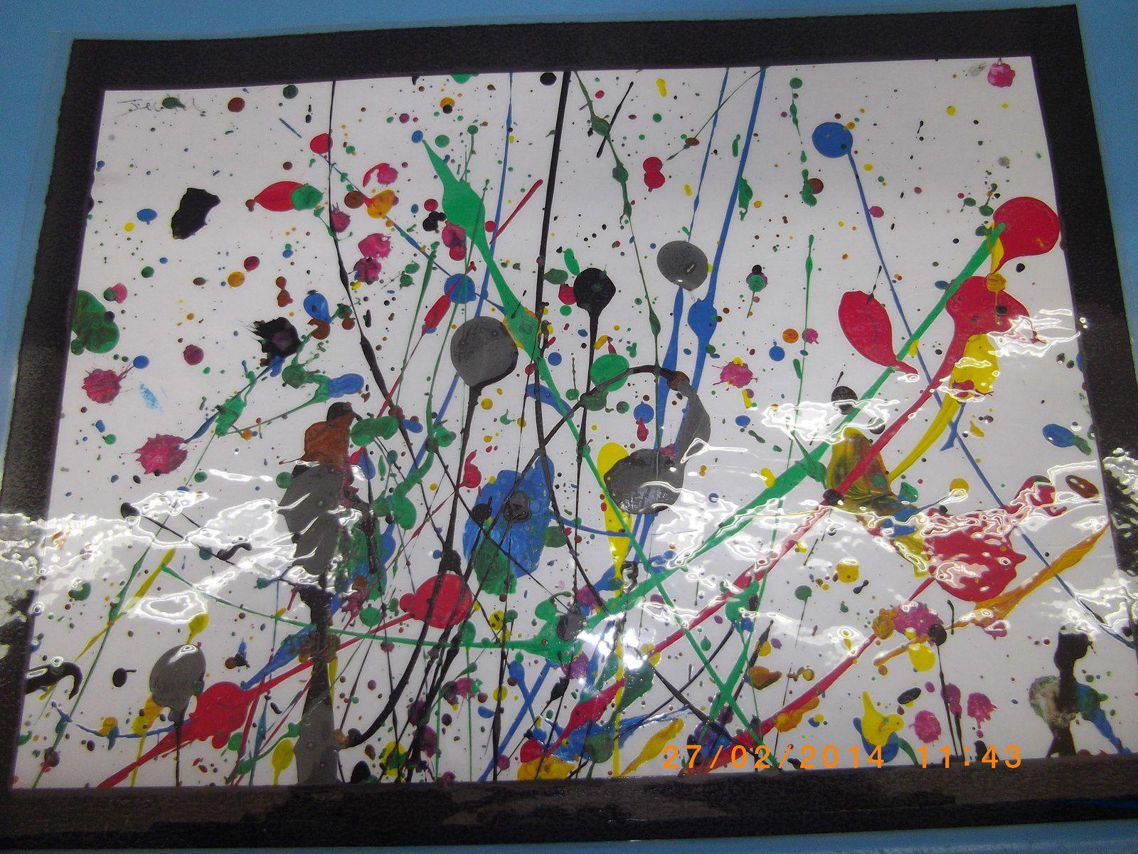 Exposition Sur Jackson Pollock En Clis Le Blog De Ecole