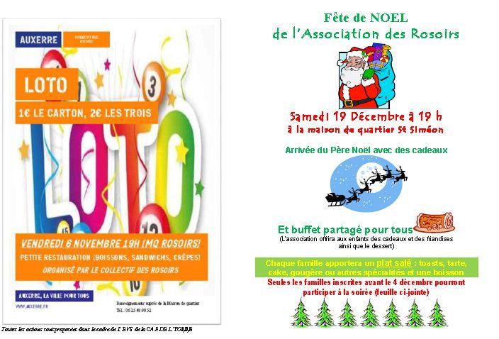 Attention : nous ne participerons pas à la corrida pédestre d'Auxerre qui a lieu le samedi 19 décembre (et non pas le vendredi 18 décembre)