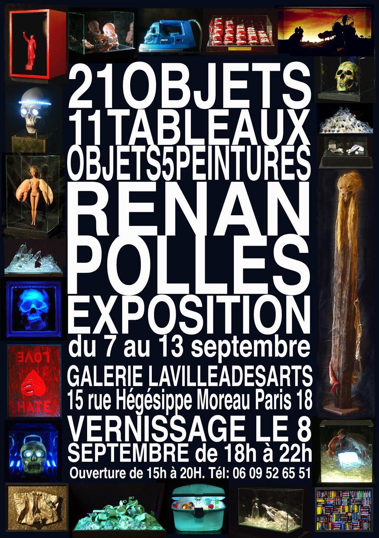 Exposition : &quot&#x3B;21 objets, 11 tableaux, 5 peintures&quot&#x3B;