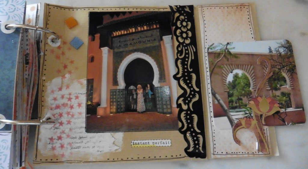 Marrakech : le mini-album d'Isabelle