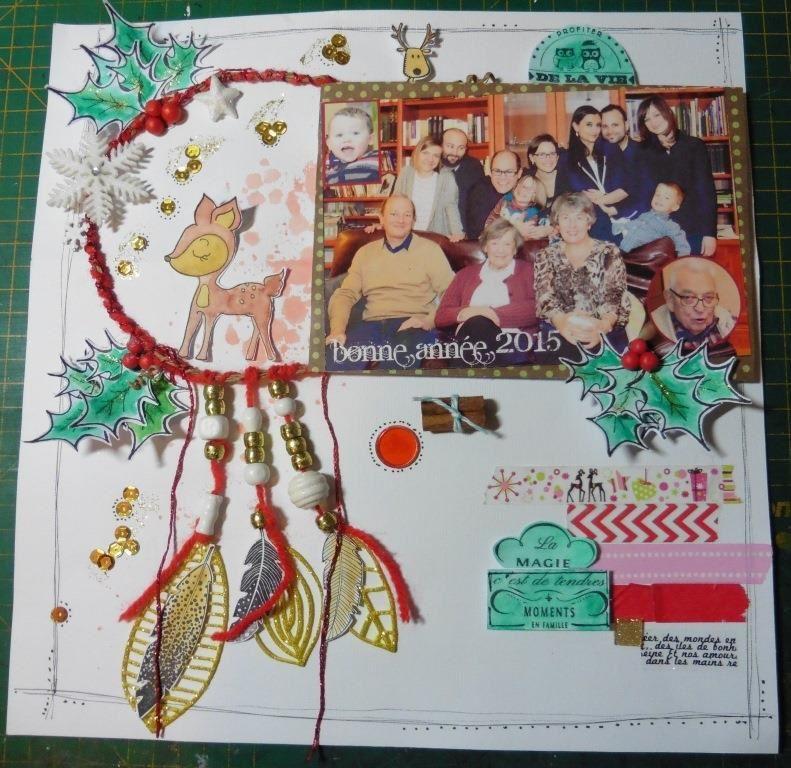 le kit de l'atelier de Noël d'Isabelle Gallien