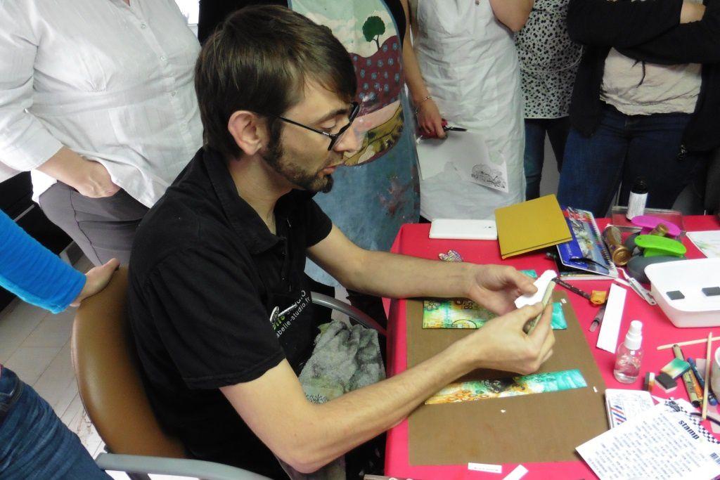 atelier avec Alexis Toupet