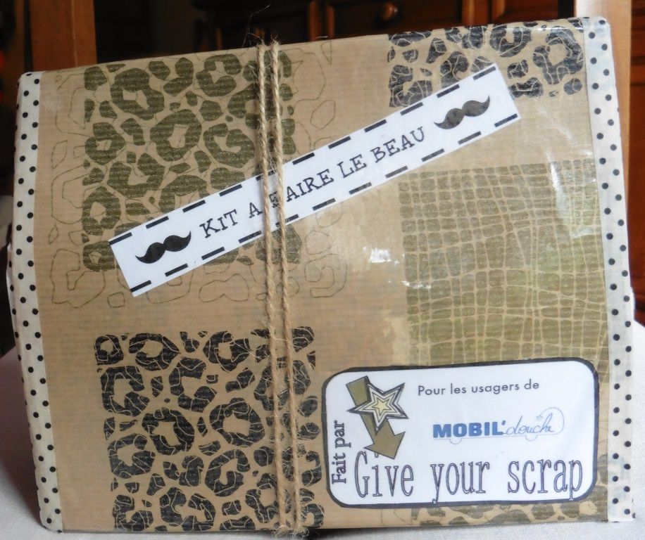 nouveau challenge sur Give Your Scrap