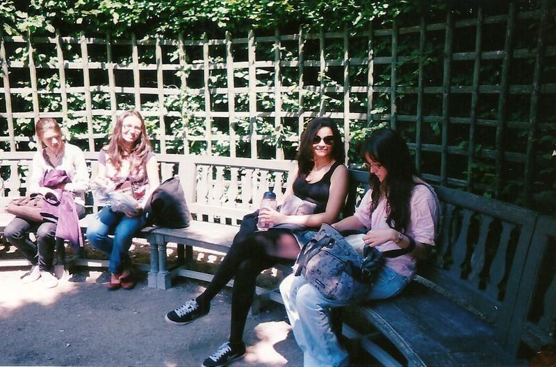 Agathe, Arihana, Yelba, Anaïs