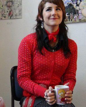Delphine, étudiante à l'ENSAPC.