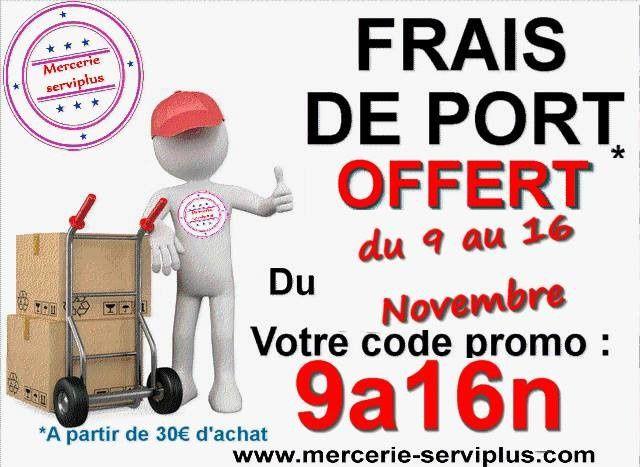 Code promo chez serviplus jusqu 39 au 16 novembre le petit - Code promo cdiscount frais de port offert ...