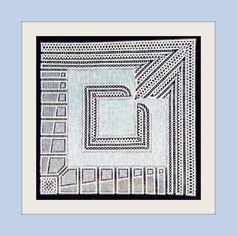 Mouchoir de Mariée (40 cmx40cm)