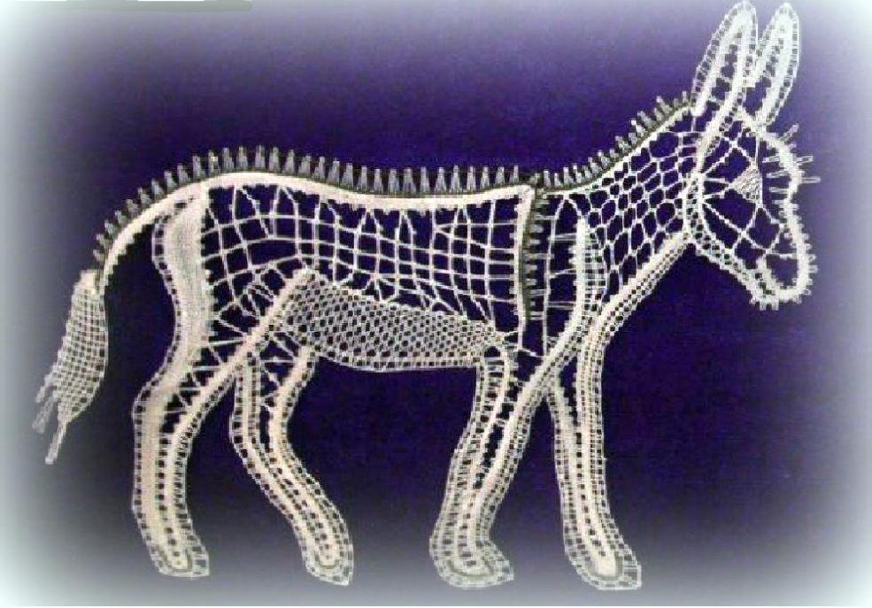 SM 35, l'âne (1.50euros) réalisé par Catherine Gillot