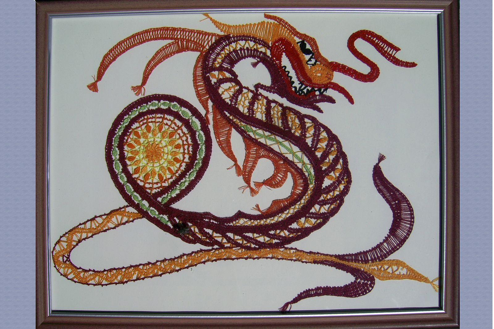 Le dragon à l'honneur