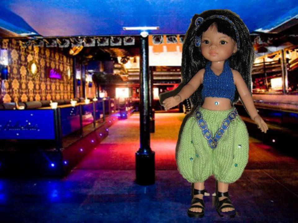 Liu n'avait pas le moral du coup elle a passé sa soirée à danser !!!! modèle venant d'ici