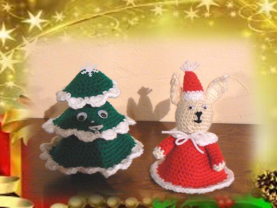 Petit sapin et lapin de Noël