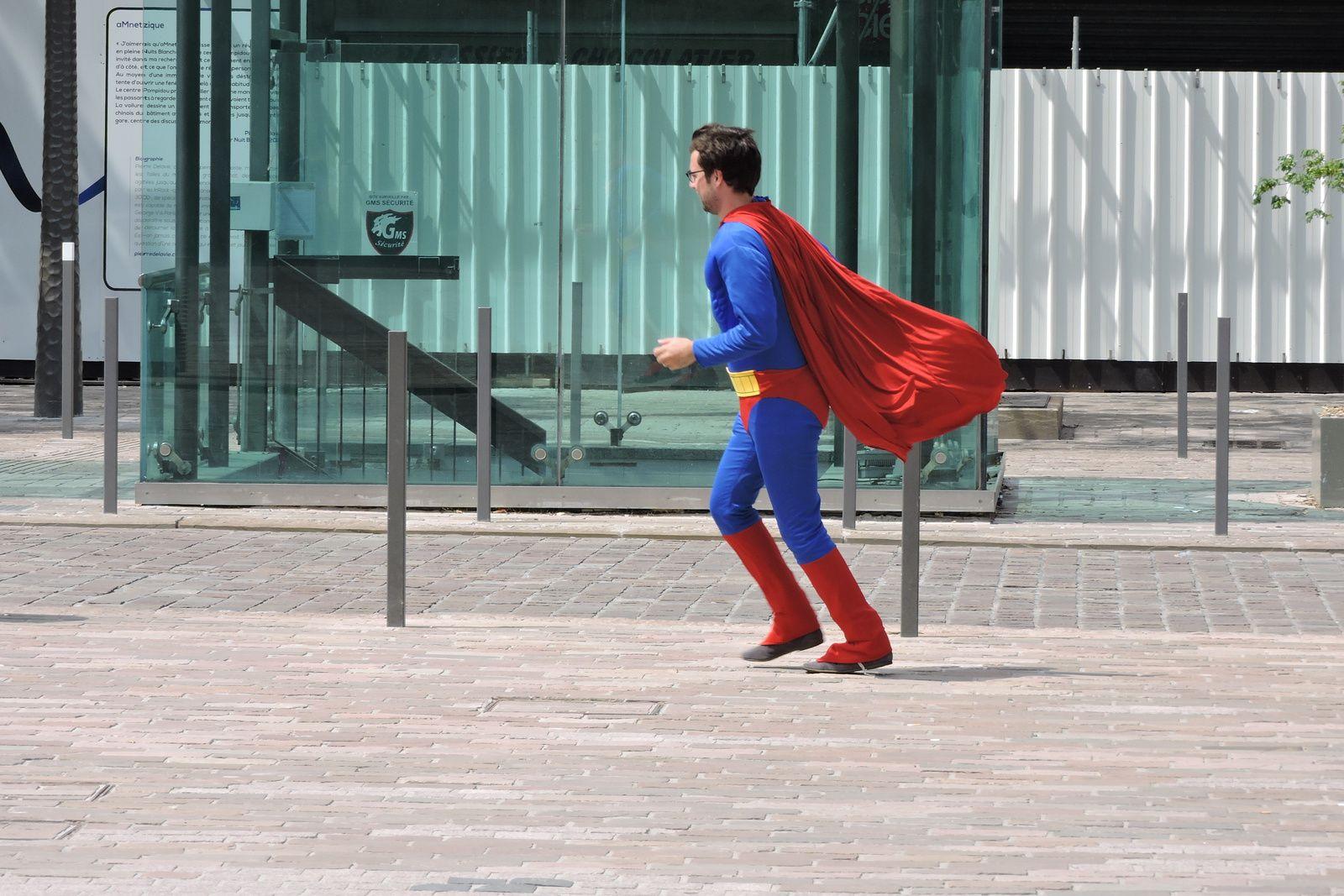 SUPERMAN est drôlement sympathique...