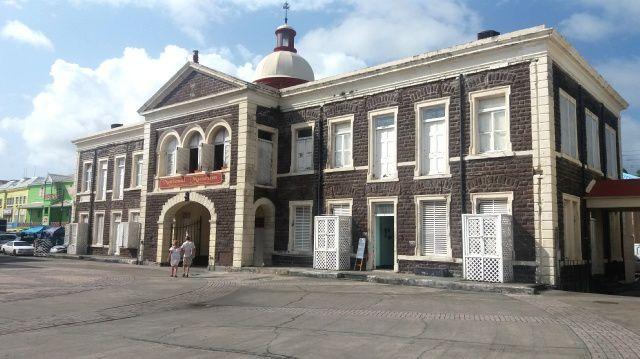 Escale à St Kitts et Nevis