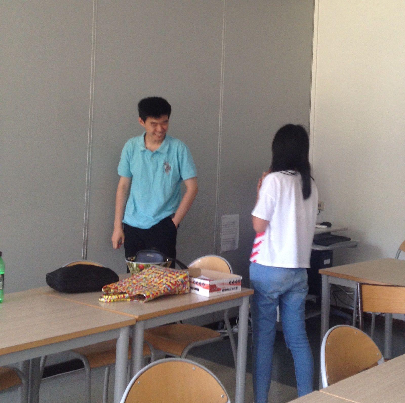 1ère quinzaine de juillet : étudiants de Jiao Tong