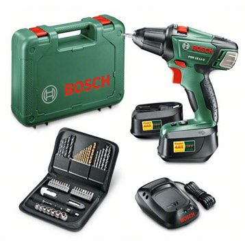 Bosch PSR 18 Li &amp&#x3B; Dremel 4000