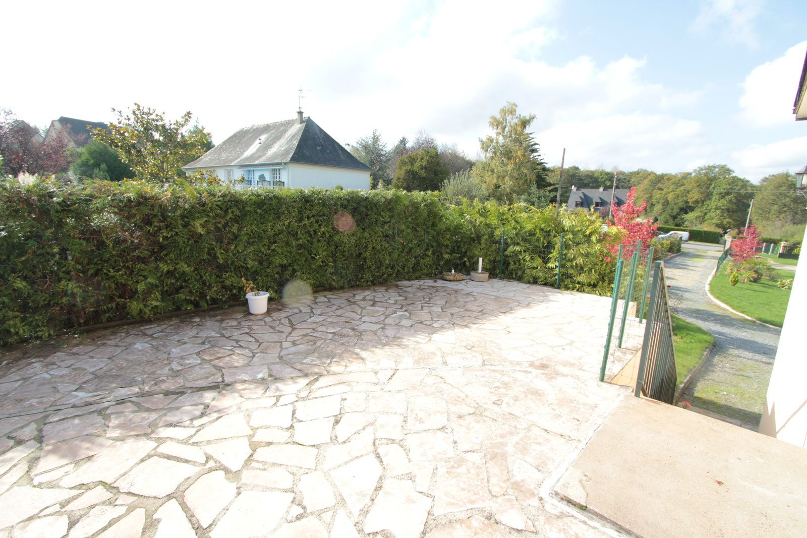 Terrasse - pose carrelage sur plot