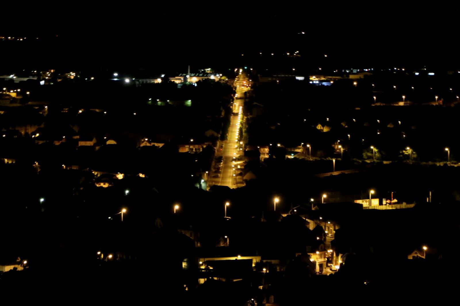 Laon by Night.