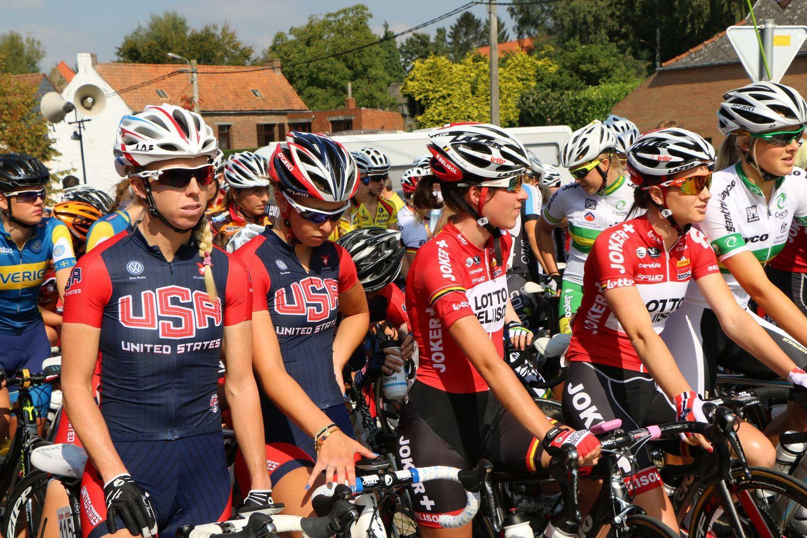 La sélection américaine avec notamment Mandy Heintz.