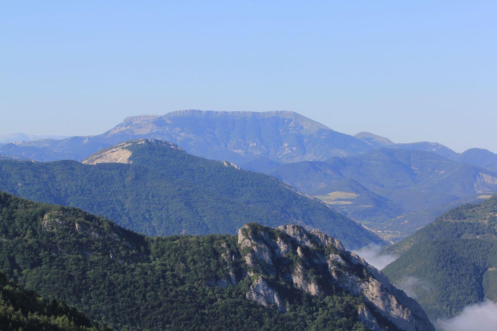 La Montagne d'Angèle au sud.