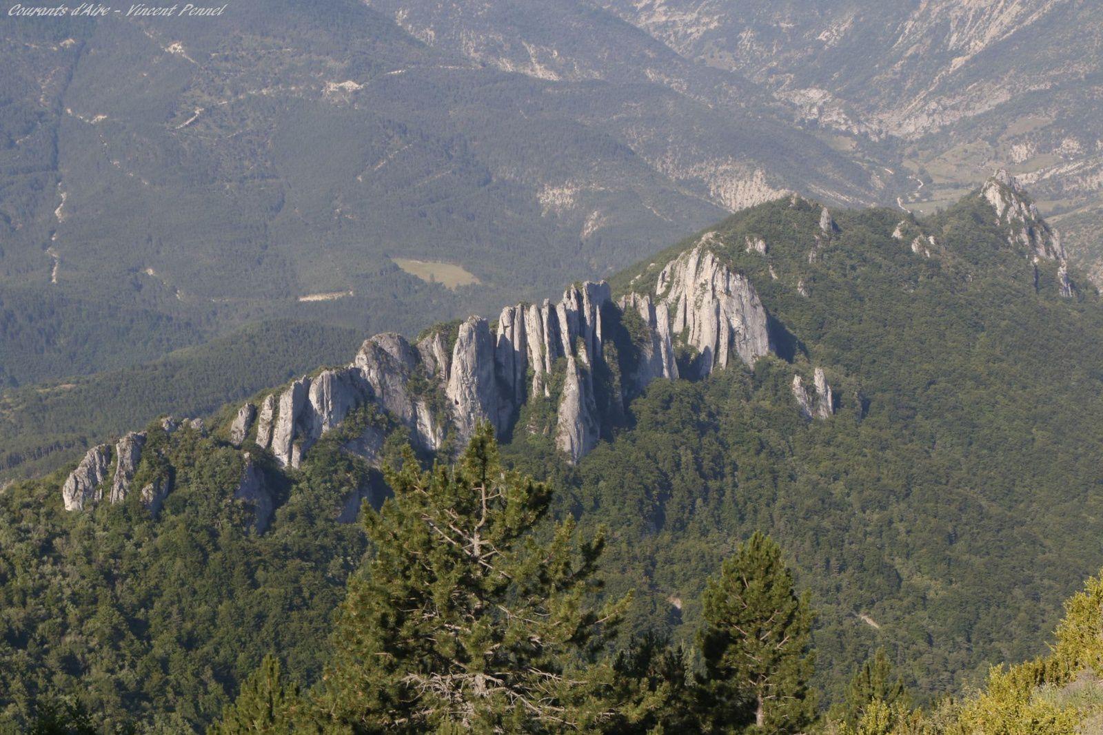 Les rochers des Blaches.