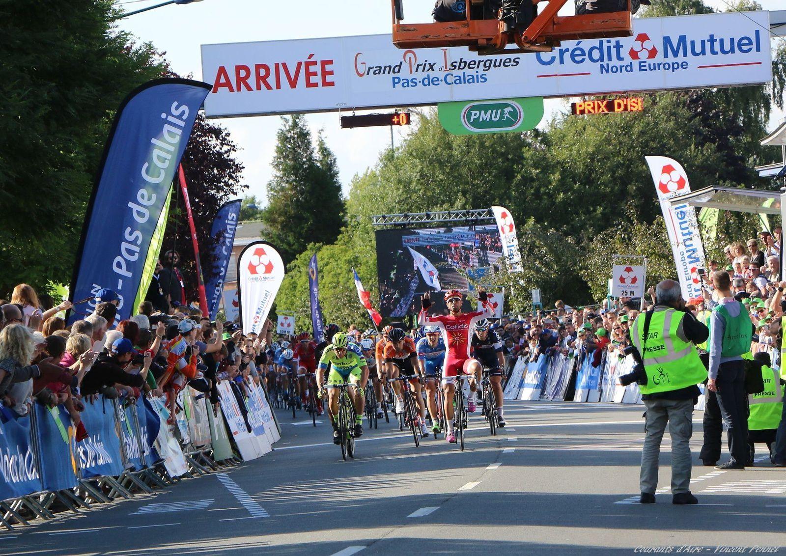 69e GP d'Isbergues 2015 - Victoire de Nacer Bouhanni (4/4)