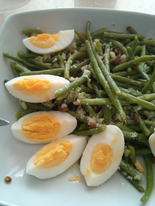 Haricots verts a l'italienne