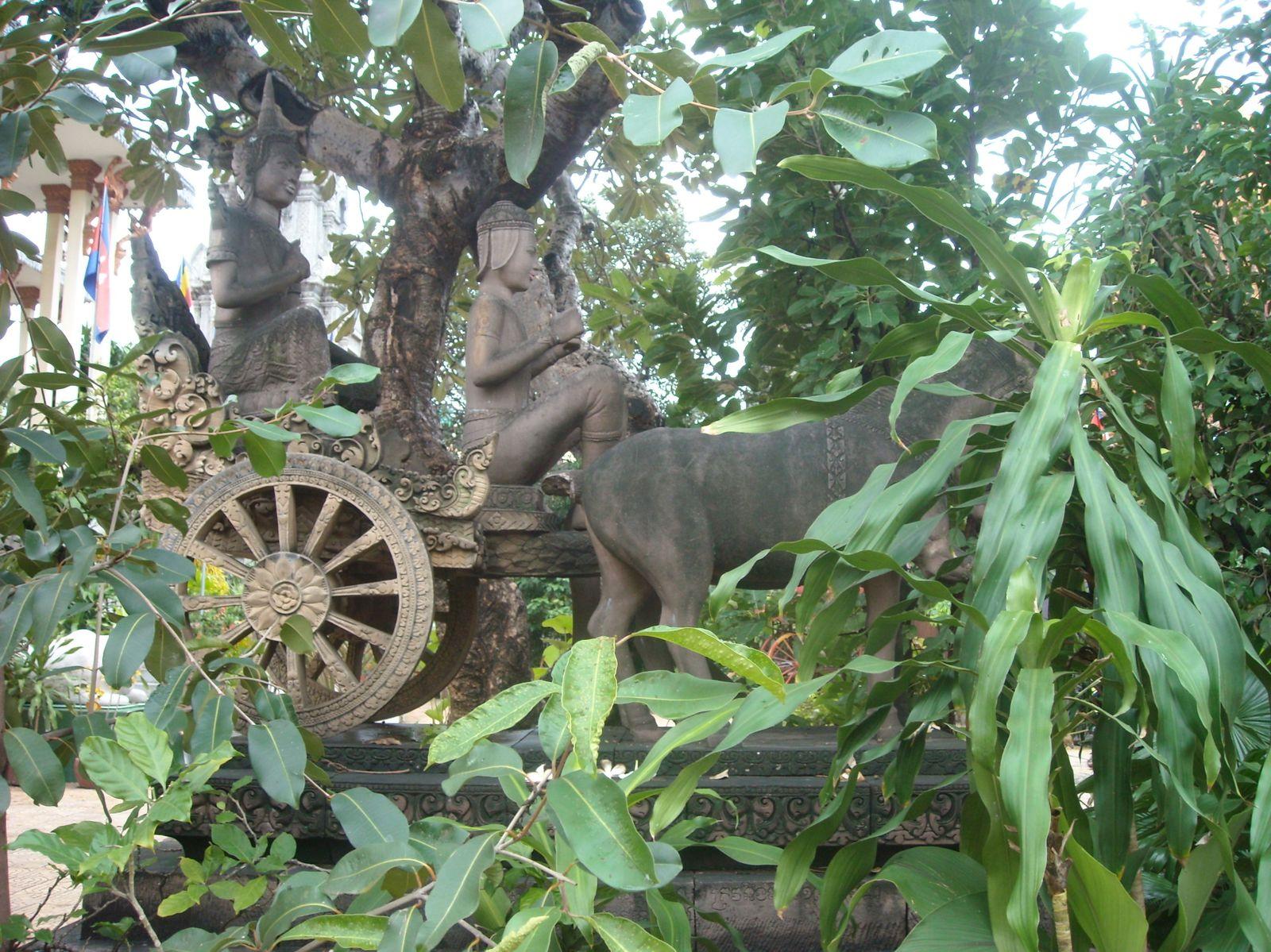 1. et 2. Le musée national 3. à 14. Le palais royal 15. à 20. Wat Ounalom  21. Si vous ne savez pas ce qu'est un durian