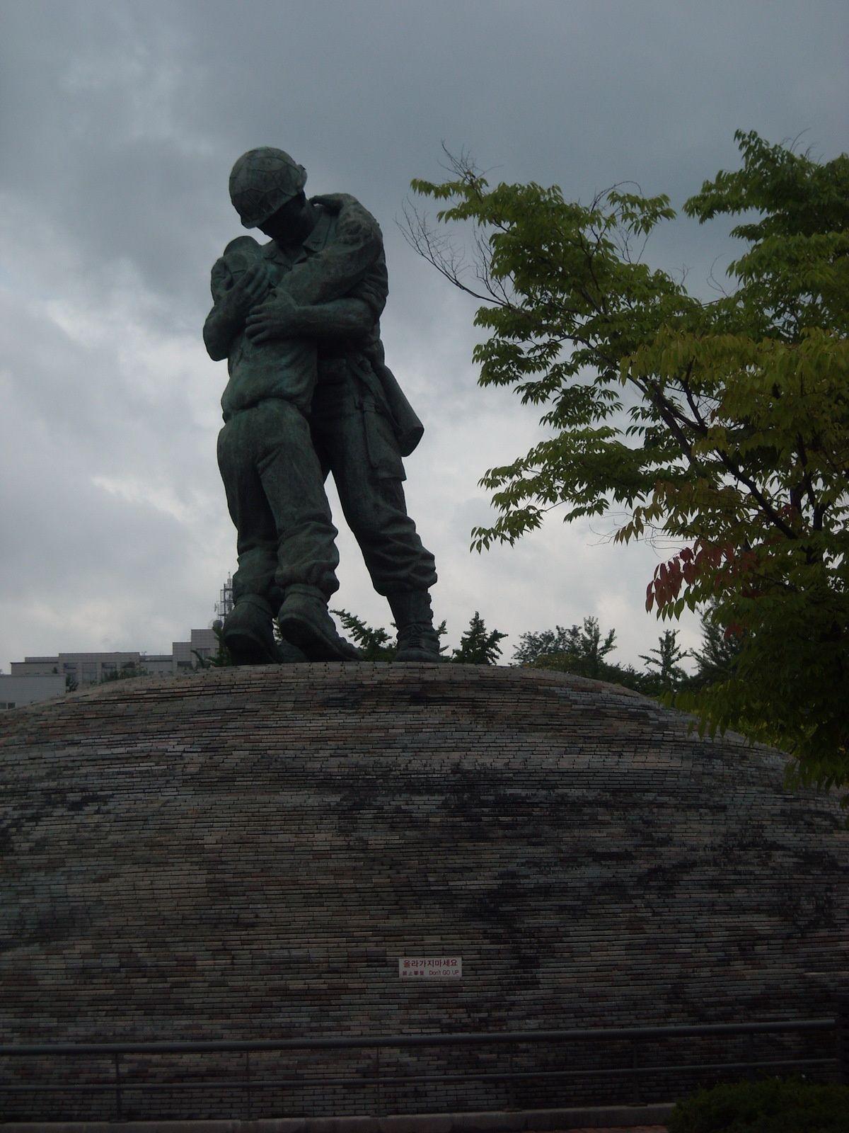 1 a 3. musee de la guerre  4. mandu: raviolis coreens    5 a 7. musee de l'art