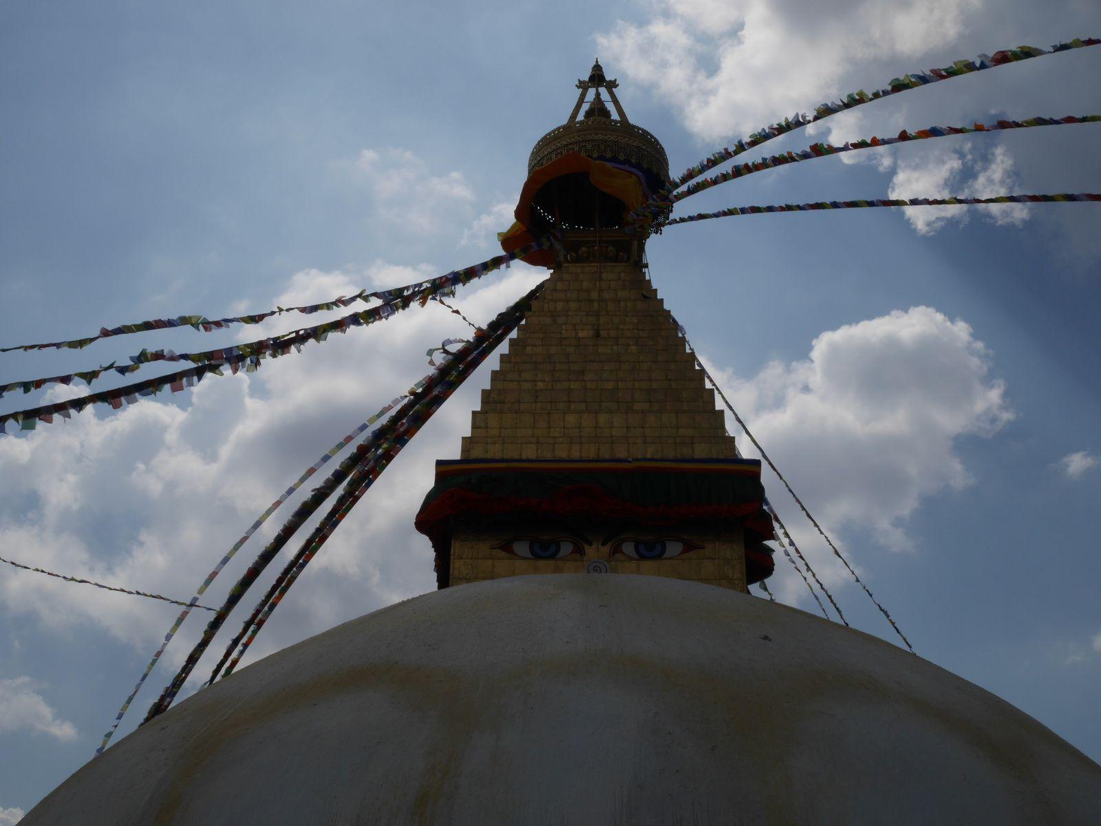 1. Trop la classe!  2. à  11. Swayambhunath  12. à la fin. Bodhnath
