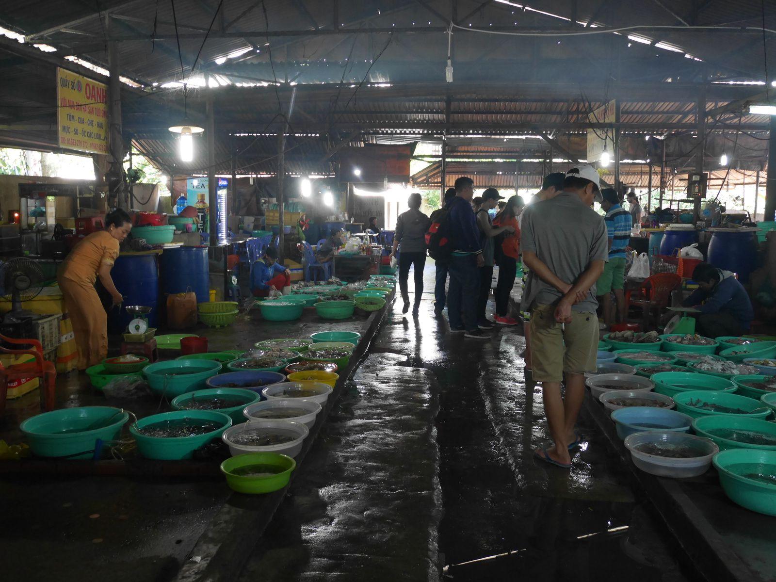 1. à 4. Monkey island    5. à 8. Seafood market    9. à 13. Parc avec les gentils singes  14. Ceci est supposé être une sorte de noix de coco  15. Dernier dîner au Vietnam