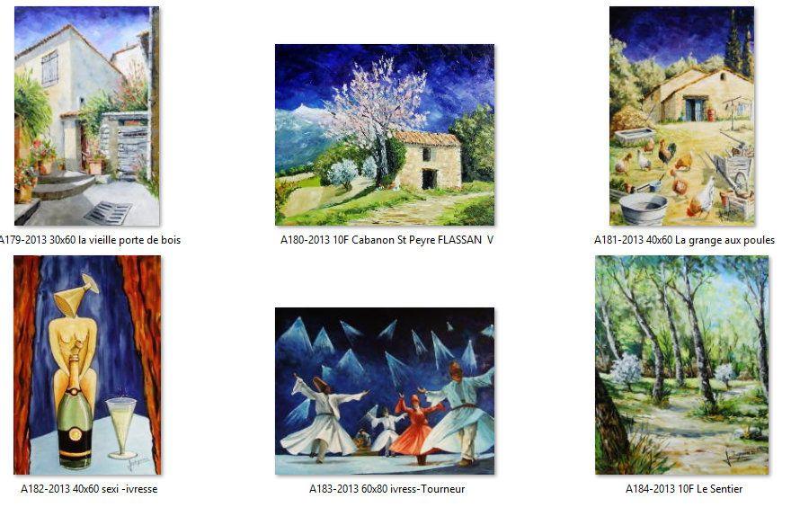 Lucien Soubeyras un copain de La Classe Elargie passionné de peinture.