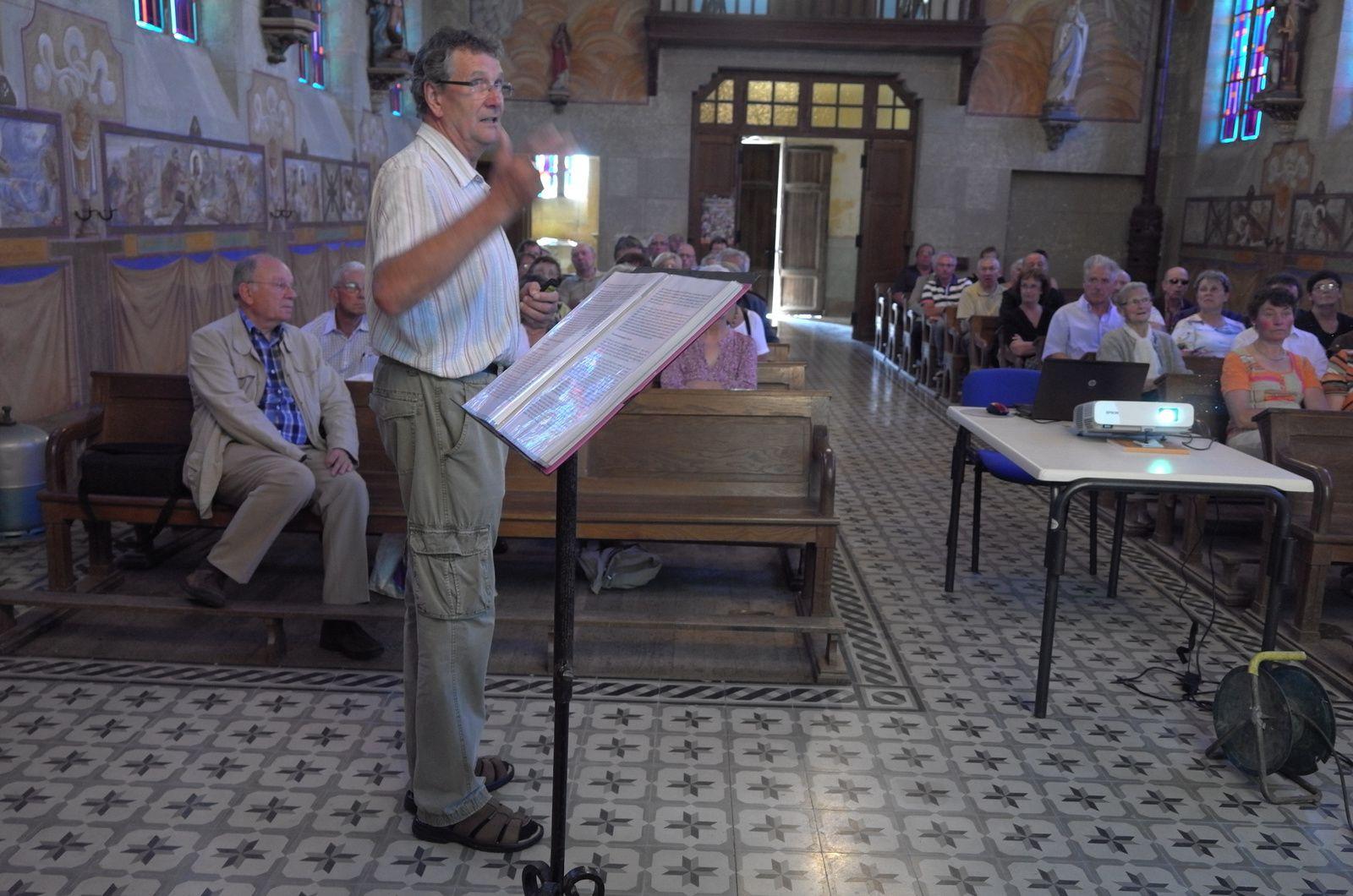 Conférence Donzelli à Véry le 22 juin 2014