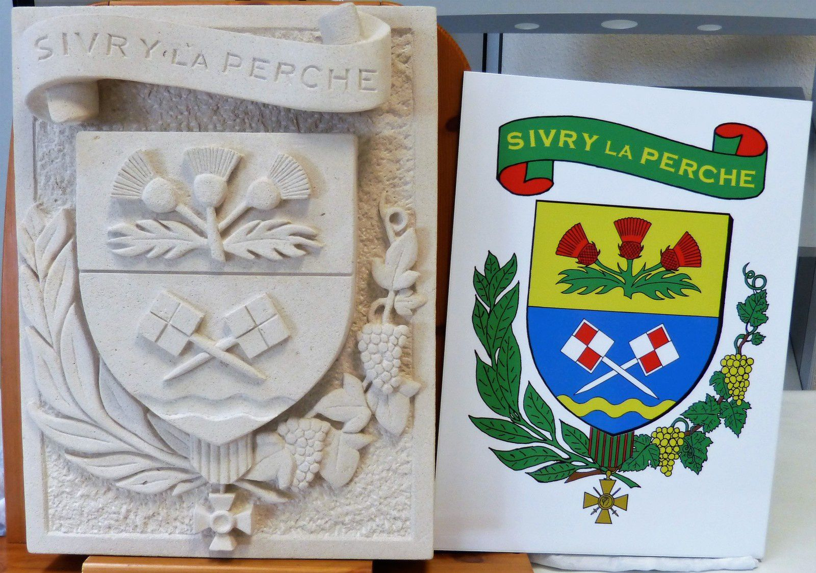 Armoiries de Sivry-la-Perche