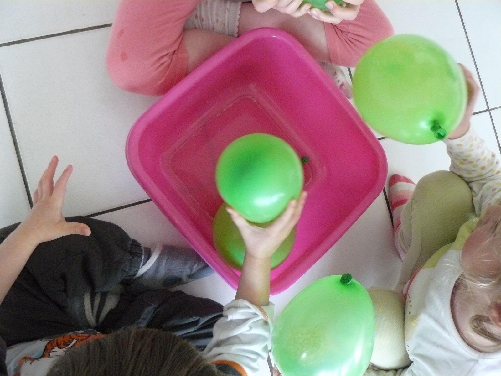 Rempli de farine, d'eau ,de semoule, de haricot,.... ces petits ballons ont eu beaucoup de succès.