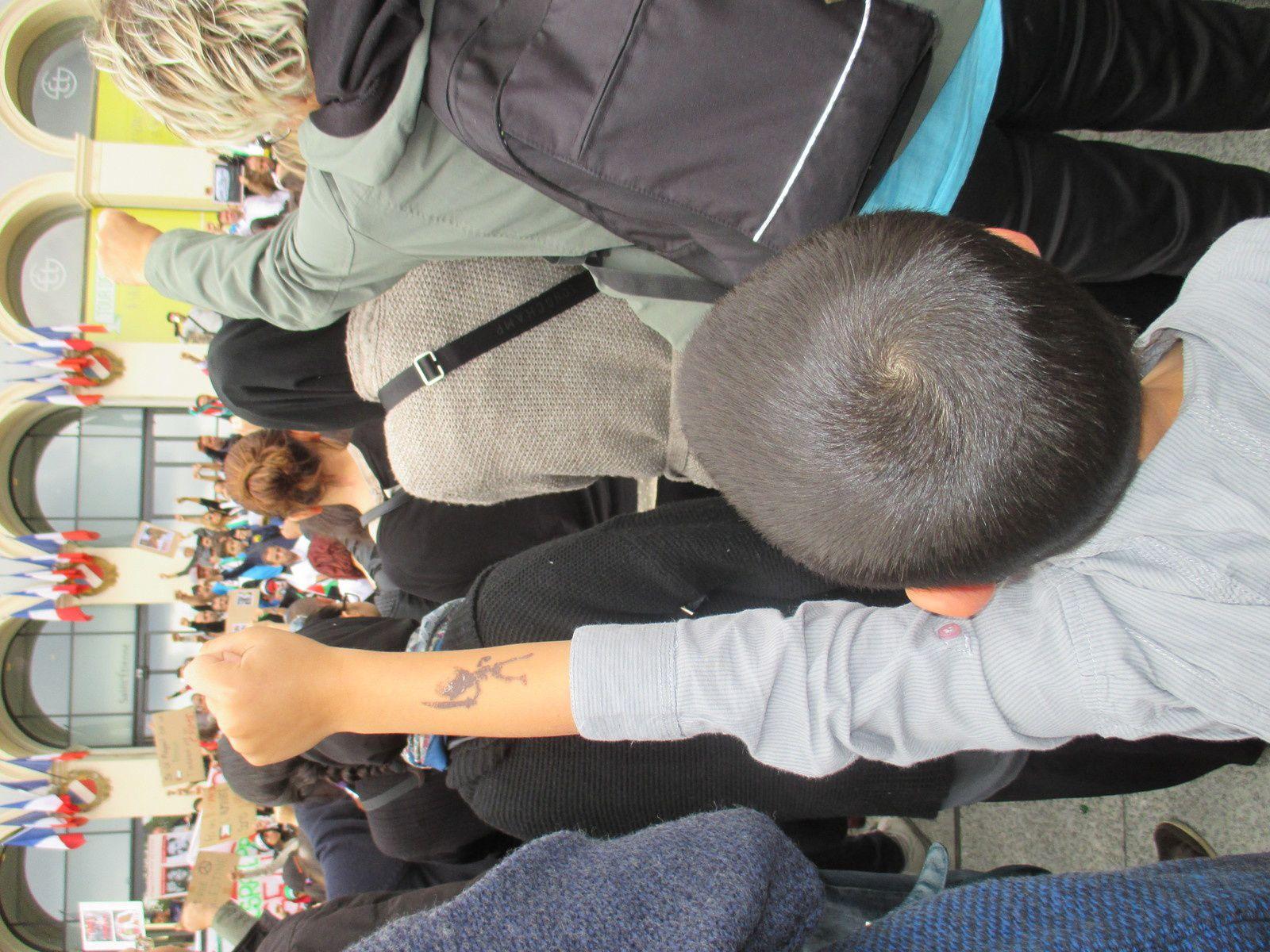 Israël assassin, Liberté pour la Palestine ! Plus de 2000 manifestants à St-Etienne samedi 12 juillet...