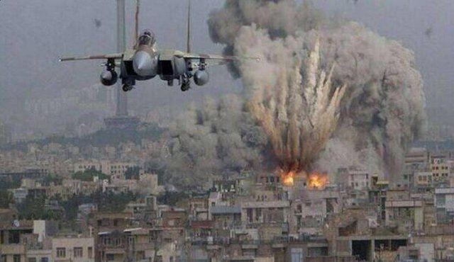 Bombardement de l'armée israélienne sur Gaza en Juillet 2014